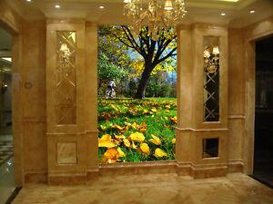 3d Beau Parc 5 Photo Papier Peint En Autocollant Murale Plafond Chambre Art
