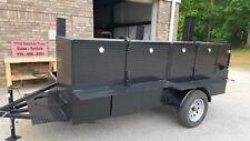 Shish Kebob Bbq Smoker 60 Grill Trailer Food Truck Mobile Catering Restaurant