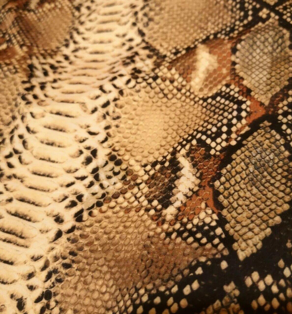 LA Damenbody Bodie Bodysuit Schlangen Muster Pullover Shirt Shirt Shirt Top Snake XS-L | Verrückte Preis  073e2b