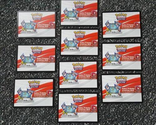 10 x Pokemon Online Codice notte in fiamme sm3 10 x Digital POKEMON Booster!