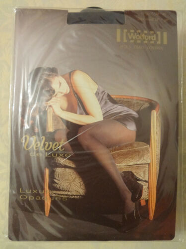De Nuovo Wolford Luxe Velvet Collant Antracite S 55r1Y7x