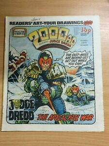 2000AD-PROG-256-20-MARCH-1982-UK-LARGE-PAPER-COMIC-JUDGE-DREDD