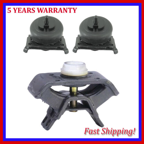 Engine Motor /& Trans Mount Manual For Set 3pcs 2005-2015 Toyota Tacoma 4.0L 2WD