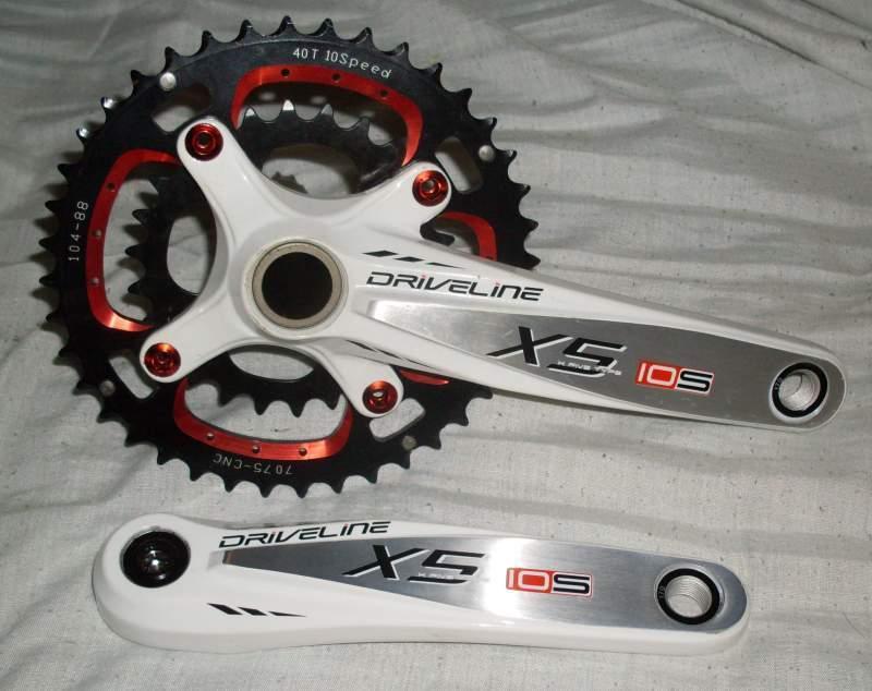Guarnitura MTB Driveline X5 10 speed 170 175 40 28 42 30 Crankset Mountain bike