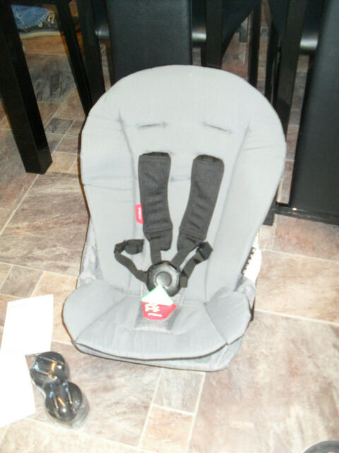 Grey Marl phil/&teds Dash Pushchair Doubles Kit
