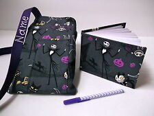 Disney  Nightmare Before Christmas Autograph Book with book bag and pen Custom