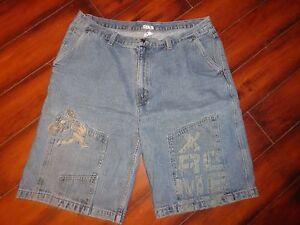 Men's No Boundaries Denim Shorts Size 42 EUC!