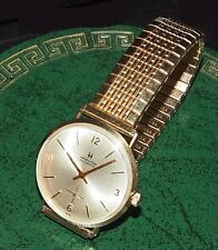 1977 HAMILTON Masterpiece 14K Gold  17J Wristwatch Model # 639 Cleaned Running