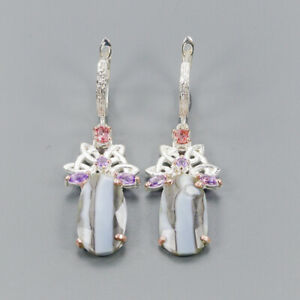 Blue-Opal-Earrings-Silver-925-Sterling-Fashion-Earrings-Women-E41051