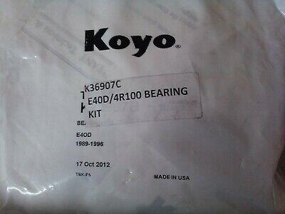 E4OD E40D Transmission Torrington Bearing Kit Ford Lincoln 1989-1997 Koyo Brand
