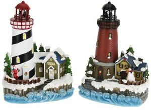 28cm-LED-Lighthouse-Christmas-Ornament-Light-Up-Christmas-Houses-in-Snow
