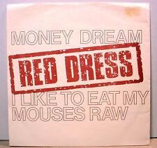 "RED DRESS - '84 indy garage punk - PopLlama 7"" / 45rpm - PS  - NM - LISTEN"