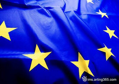 Large 3x5 FT European Union EU Flag Brand 90*150cm Wave Euro Flag Europe CoE
