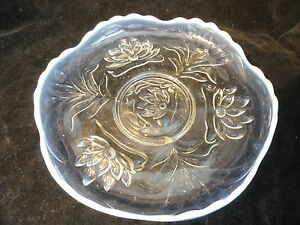 Opalescent-Fenton-Glass-Water-Lilies-Cat-Tails-Under-Plate-Circa-1908-1912