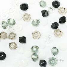 50 Swarovski 5328 Crystal XILION Bicone Beads MIXED COLOR*Pick Size & Color