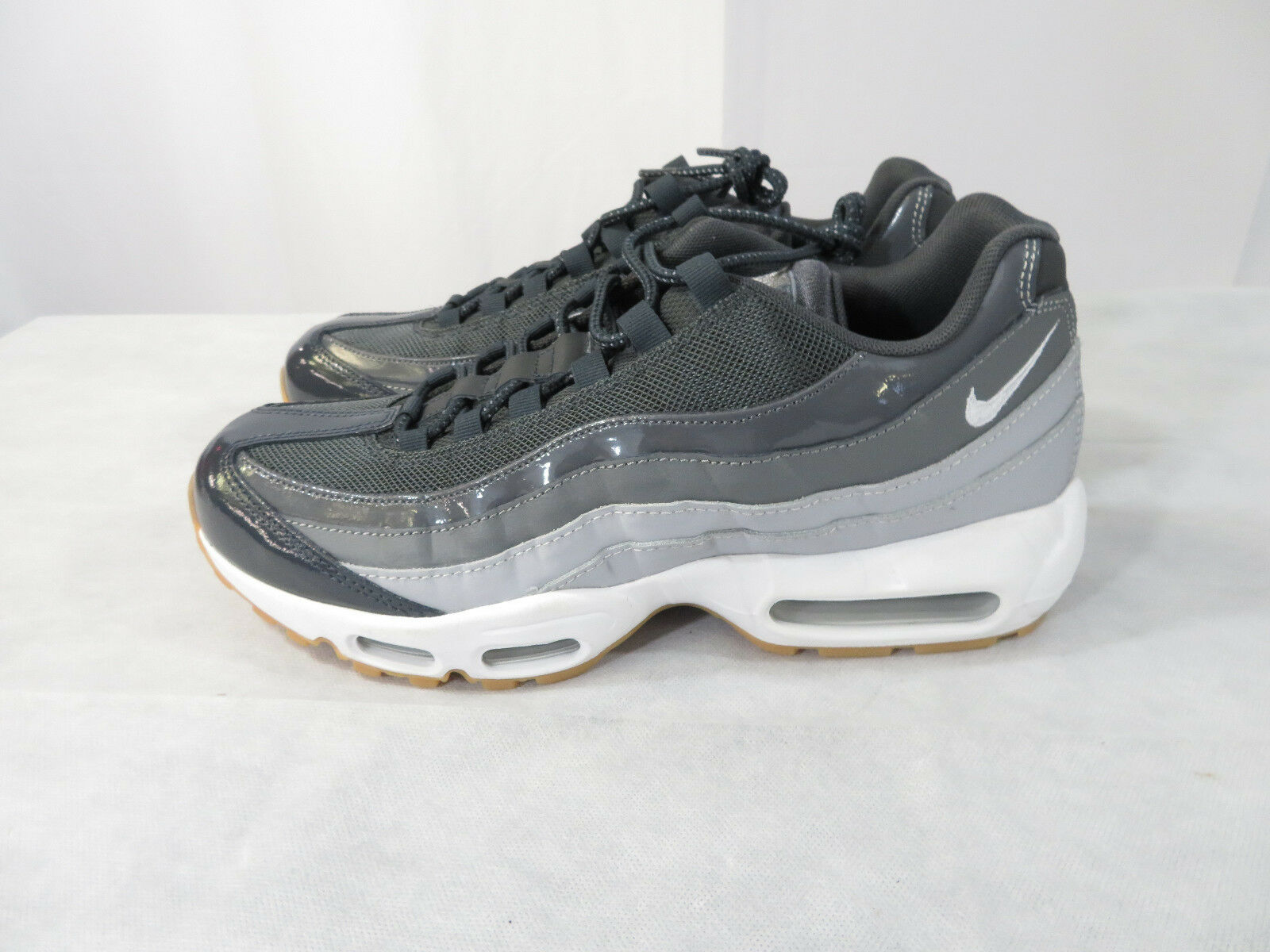 Wmns Nike Air Max 95 Running Shoes Anthracite Wolf Grey White Size 12 307960-012