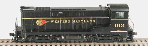 Bowser HO Scale Locomotive VO-660 PH1 Western Maryland