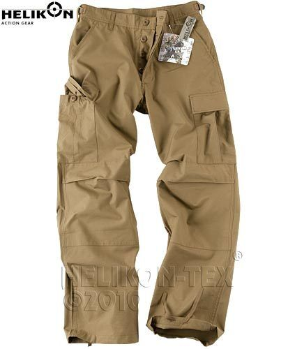 Helikon TEX Tactical BDU response Outdoor Combat Pantaloni Trousers Pants Coyote xXLR