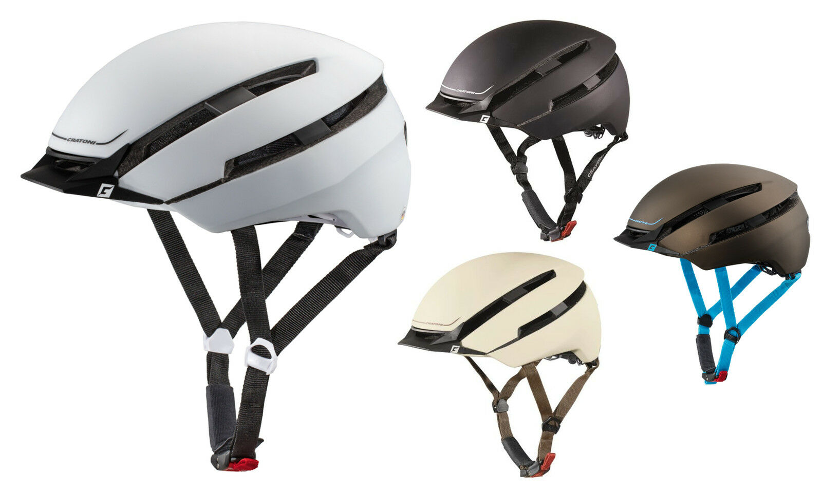 Cratoni e-bikehelm C-Loom pedelechelm City cascos casco de bicicleta cruiser radhelme
