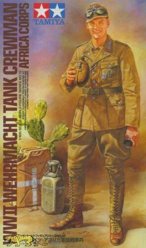 1:16 Tamiya 36310 Wehrmacht Panzersoldat Deutsches Afrika Korps