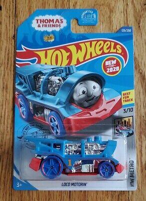 Hot Wheels 2020 HW Metro Loco Motorin Thomas /& Friends Thomas The Train 125//250