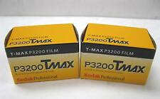 2 Rolls Kodak Tmax TMZ P3200 ISO 3200 Black & White 36 Exp Film T-Max 01/2011