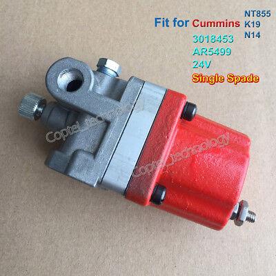 24V Fuel Shutoff Stop Solenoid Valve 3021420 Fit for Cummins PT Pump PT3021420