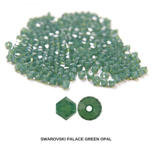 4//5 MM Palace Green Opal Swarovski Bicones Beads 144//432 Pieces FREE SHIPPING