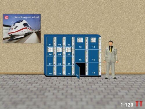 1:120 TT Gepäckschliessfach Schliessfach SBB mit offener Tür Modellland 2112-7