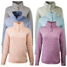 Eddie Bauer Women's Radiator Fleece 2.0 Snap Mock Neck Sweater (Retail $60)