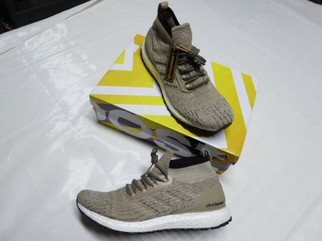 9717a6350 adidas Ultra Boost All Terrain Ltd Mens Cg3001 Khaki Primeknit Shoes ...