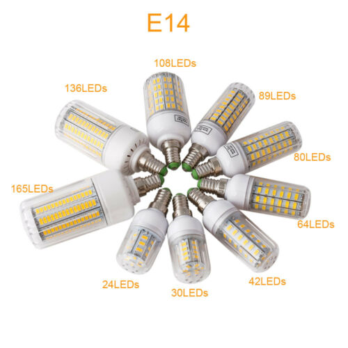 E27 E14 Led Corn Lamp SMD 5730  Bulbs Candle Light 110V 7W 12W 15W 20W 25W 35W