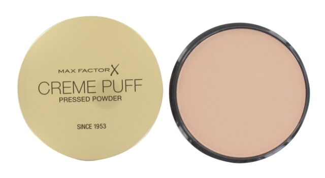Max Factor Creme Puff Compact Powder Foundation 21g - Natural #50 - New