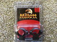 Millett .22 Calier 3/8 Base 30mm Medium Height Scope Rings Tp00708
