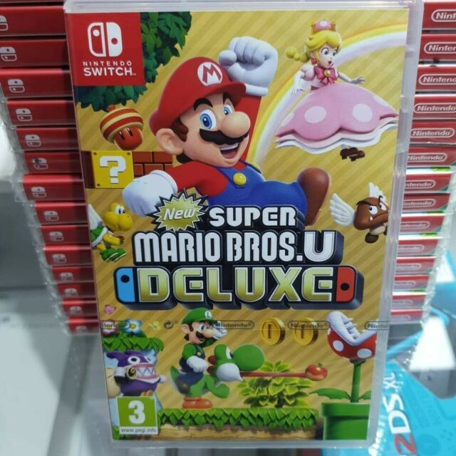 New Super Mario Bros. U Deluxe (Nintendo Switch, 2019)