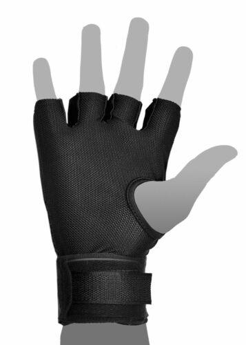 Boxing Neoprene Inner Hand Wraps Gloves MMA Fist Padded Gel Strap Grappling Mitt