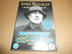 Spike Milligan I Told You I Was Ill Dvd Live Tribute Comedy Event Ebay