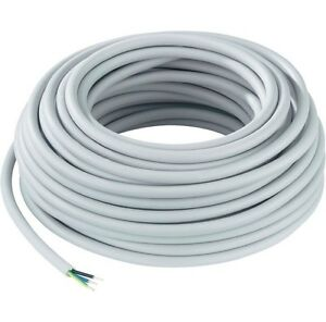 0 88 m 50m nym j 3x2 5mm stromkabel mantelleitung kabel leitung elektroleitung ebay