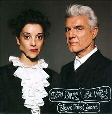 DAVID BYRNE & ST. VINCENT - LOVE THIS GIANT (CD, 2012, 4 A.D.)