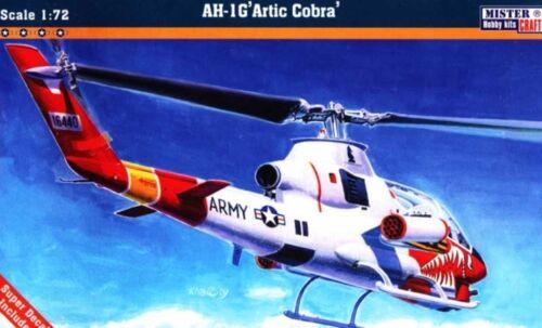 US ARMEE SPEZIAL MKGS 1//72 MISTERCRAFT HALBER PREIS BELL AH 1 G ARKTIK COBRA