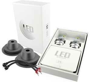 Kit led 55w xenon 3600 lm lumen h1 6000k lampade led ebay for Lampade a led lumen