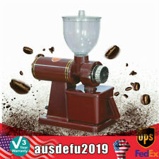Commercial Electric Coffee Grinder Automatic Burr Mill Espresso Bean Grind 100w