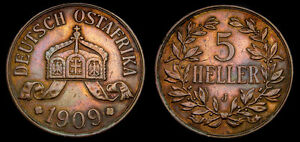 German-East-Africa-1909-J-5-Heller-KM-11-EF-5344