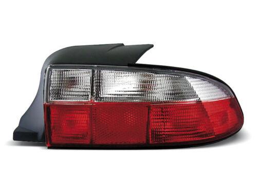 Paire de feux arriere BMW Z3 roaster 96-99 rouge blanc