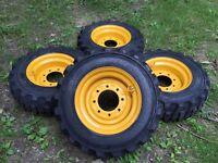 4 10-16.5 Galaxy Xd2010 Skid Steer Tires-wheels/rims For John Deere -10x16.5
