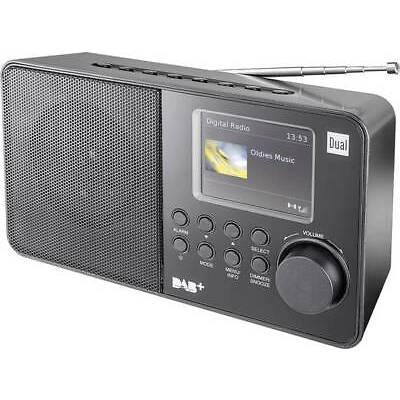 DAB+ Kofferradio Dual DAB 18 C DAB+, UKW  Schwarz
