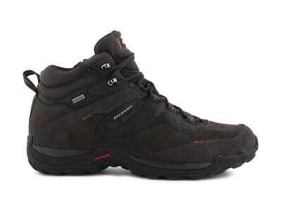 112258 SALOMON ELIOS 2 MID GTX 112258 ASPHALT BLACK trekking scarpe uomo | eBay