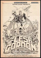 Further Adventures of FLESH GORDON__Original 1977 Trade AD / poster__unproduced