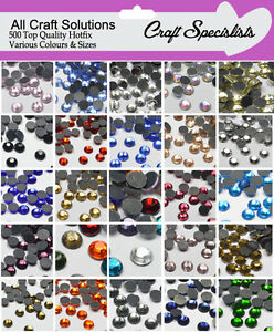 500-TOP-QUALITY-AA-GRADE-HOT-FIX-RHINESTONES-DIAMANTE-GEMS-3mm-4mm-5mm