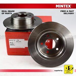 2X-Mintex-Posteriore-Freno-a-disco-FORD-TOURNEO-TRANSIT-CONNECT-1-8-16V-TDCi-2-0-elettrico